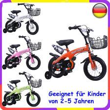 12 Zoll Kinderfahrrad mit Stützräder Kinderrad Fahrrad Spielrad DE