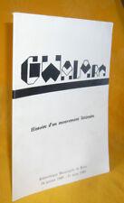 Gwalarn. Histoire D'Un Mouvement Littéraire. catalogue exposition Brest bretagne