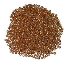 500 MDI Game Quality Gold (Brass Plated) beads for Fly Tying 2mm