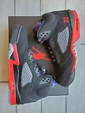 Nike Air Jordan Retro V 5 TOP 3 Grape Fire Red Metallic CZ1786-001 Men's SIZE 13