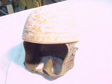 VINTAGE CROMWELL MOTORCYCLE HELMET MADE IN ENGLAND TRIUMPH BSA NORTON MATCHLESS