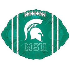 Michigan State Spartans MSU Football Foil Balloon College Licensed Homecoming