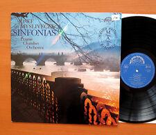 Josef Myslivecek Sinfonias Prague Chamber Orchestra Supraphon 1110 2836 NM