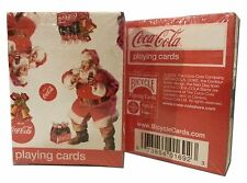 Coca-Cola Mini Playing Cards (Christmas Issue) Santa Mini Playing Cards
