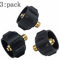 Mtsooning 1Pc Brass QCC1 Acme Nut Propane Gas Fitting Adapter with 1//4 inch Male Pipe Thread