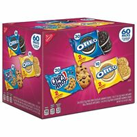 Nabisco Cookie Variety Pack (60 packs), Brand New - SEALED ITEM