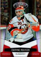 DWAYNE ROLOSON 2010-11 Certified Mirror Red #94 25/250 ($0.75 MAX SHIP)