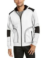 INC Imternational Concepts Mens Overbound Hooded Jacket White Size XL NWT