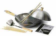 Ken Hom KH331103 31cm Carbon Steel Pan - 10 Piece