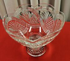 """WATERFORD CRYSTAL SEA SPRAY CENTERPIECE BOWL DESIGNERS GALLERY 11"""" W BY 9 1/2"""" T"""