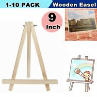 1-10Pack Mini Artist Art Wooden Easel Wood Wedding Tabletop Display Stand Decor