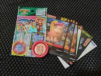 Vintage Nintendo 1995 Super Donkey Kong 2 Coin + Cards Medal Rare Promo Mario L1