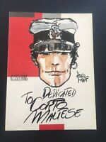 HUGO PRATT - DEDICATED TO CORTO MALTESE - KESSELRING - EO 1985 ( TTBE )