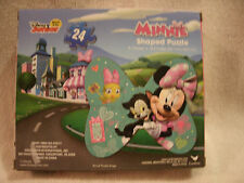 Disney Minnie Mouse 24 Piece Shaped Puzzle
