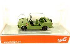 Trabant Seau Trotteur Populaire DDR Nva Herpa 024440 1 Nouveau : 87 H0