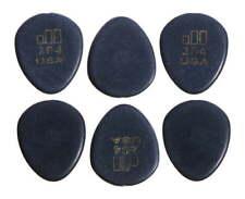 6 Médiators Guitare Dunlop Jazztone 204 S
