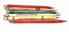 Lot #2: 6 Vintage 40's Scripto Metal Mechanical Pencils for Parts or Repair