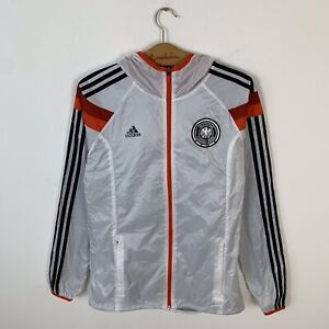 GERMANY TRAINING ADIDAS ANTHEM TRACK TOP JACKET 2014/2015 SOCCER SHIRT JERSEY M