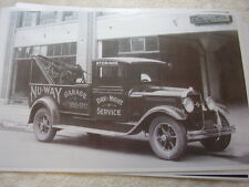 1930 STUDEBAKER 3/4 ? TON  TOW TRUCK  11 X 17  PHOTO   PICTURE