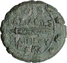 PHILIP V King of Macedonia 221BC Ancient Rare Greek Coin Hercules Flute  i25357