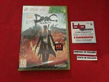DMC DEVIL MAY CRY XBOX 360 PAL NUOVO SIGILLATO