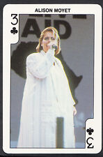 Dandy Gum Card - Rock'n Bubblegum Card - Pop Star - Alison Moyet