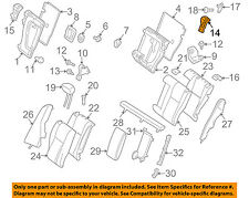 MERCEDES OEM 10-15 GLK350 Rear Seat-Latch Right 2049200272