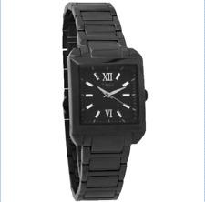 NWOT Men's Timex T2P406 Black Stainless Steel Black Quartz Dial Watch