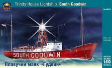 "1/110 Scale model. English floating lighthouse ""South Goodwin"""
