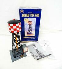 American Flyer 6-49809 772 Checkerboard Bubbling Water Tower w/shack Lionel O S