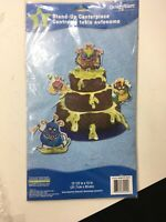 Happy BIRTHDAY Monster Party HONEYCOMB CENTERPIECE Birthday Supplies Decorate