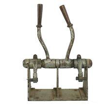 Antique Marine Bronze Controls Vintage Maritime Throttle Shift Engine Controls