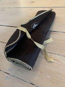 XL (Pacific Silver Cloth) Anti Tarnish 12 Slot Silverware Tie Roll Pouch Bag