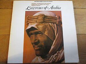 LAWRENCE OF ARABIA - ORIGINAL SOUNDTRACK RECORDING - LP/RECORD - GSGL 10389 - UK