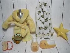 """Sleep-over SLUMBER PARTY MEYGAN Bratz 10"""" Clothes Monkey PET SLIPPER ROBE OUTFIT"""