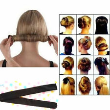 Black Hair Updo Wrap Fold Snap French Twist STYLE Bun Maker Magic Styling Tool