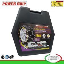 16F240 Catene da Neve Power Grip 16mm Gruppo 240 gomme 215/75R16 Nissan Pick Up