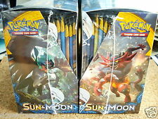 x2◆FACTORY SEALED SUN & MOON BOOSTER BOXES◆2x Pokemon Card Game 2x36 = 72 Packs!