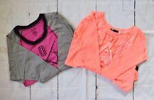 $78 Fox Racing Women's Long Sleeve Shirts(two pieces) - Guava/Atomic Punch sz XS
