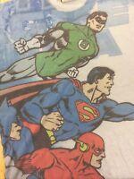 dc comics originals vintage t shirt small Superman Flash Green Lantern Batman