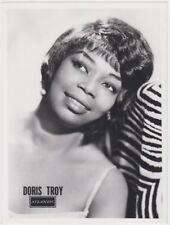 DORIS TROY 1964 Orig. PROMO B&W Press Photo Pop Soul R&B Atlantic Northern