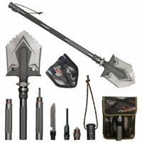 MultiFunction Military Folding Shovels Outdoor Camping Survival Spade Shovel Set