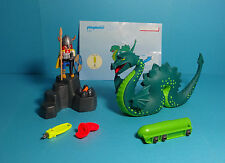 "Playmobil Wikinger / Vikings ~ Seeungeheuer ""Nessie"" (3155) & Anleitung"