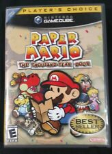 Paper Mario Thousand Year Door for GameCube with Manual