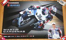 2014 Martin Cardenas Yoshimura Suzuki GSX-R1000 Superbike AMA poster