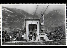 RIDDES (SUISSE) VILLAS & TELEPHERIQUE en 1958