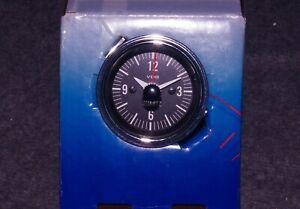 NOS 12V VDO Quartz Dash Clock Peterbilt Shelby Cobra Kenworth Stewart Warner