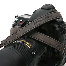 MATIN Kamera Leder Hals Schultergurte Vintage-20 [D.Grau] f/ D-SLR RF Mirrorless