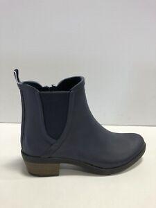Lucky Brand, BaselH20 Womens Rain Boots Indigo Rubber US7 M