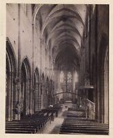 Chiesa st Lawrence Da Norimberga Germania Foto Vintage Albumina c1880